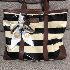 葵咲本紀「鶴丸のツイリースカーフ」でバッグをアレンジしてみた