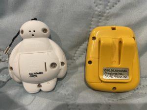 ベイマックス・ウォカボットをポケットピカチュウと比べてみた